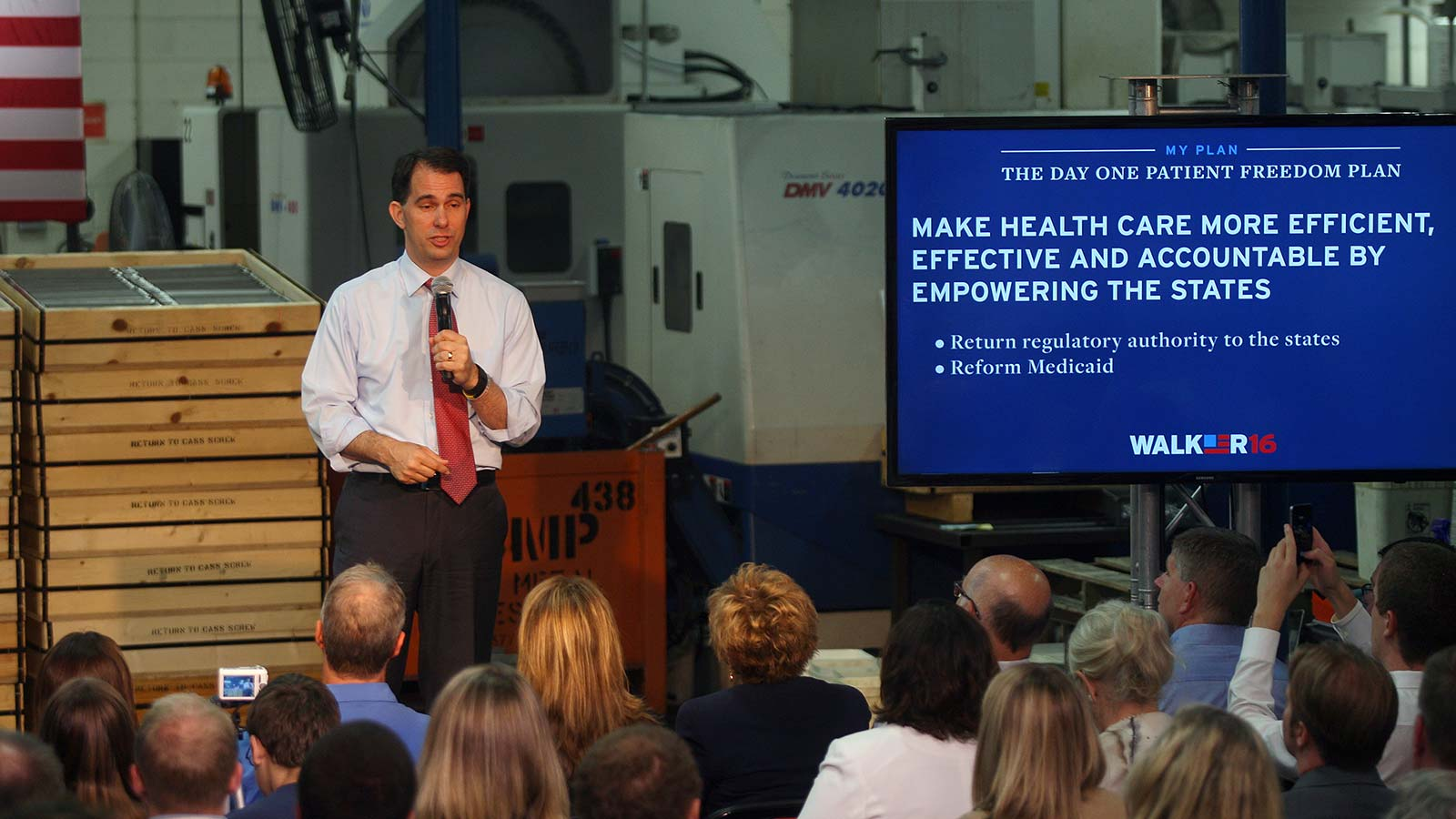 Scott Walker's ObamaCare Repeal and Replace Day One Patient Freedom Plan Announcement
