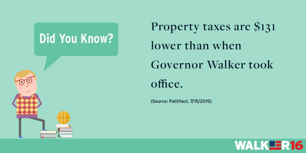 Taxes: Lower Property Taxes