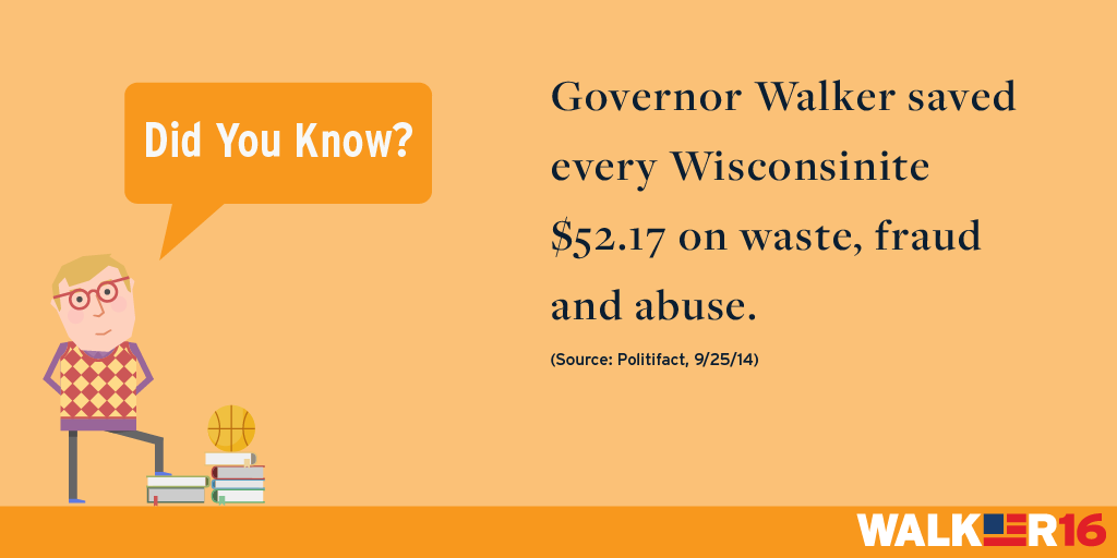 Regulations: Saved Wisconsinites From Waste, Fraud, And Abuse