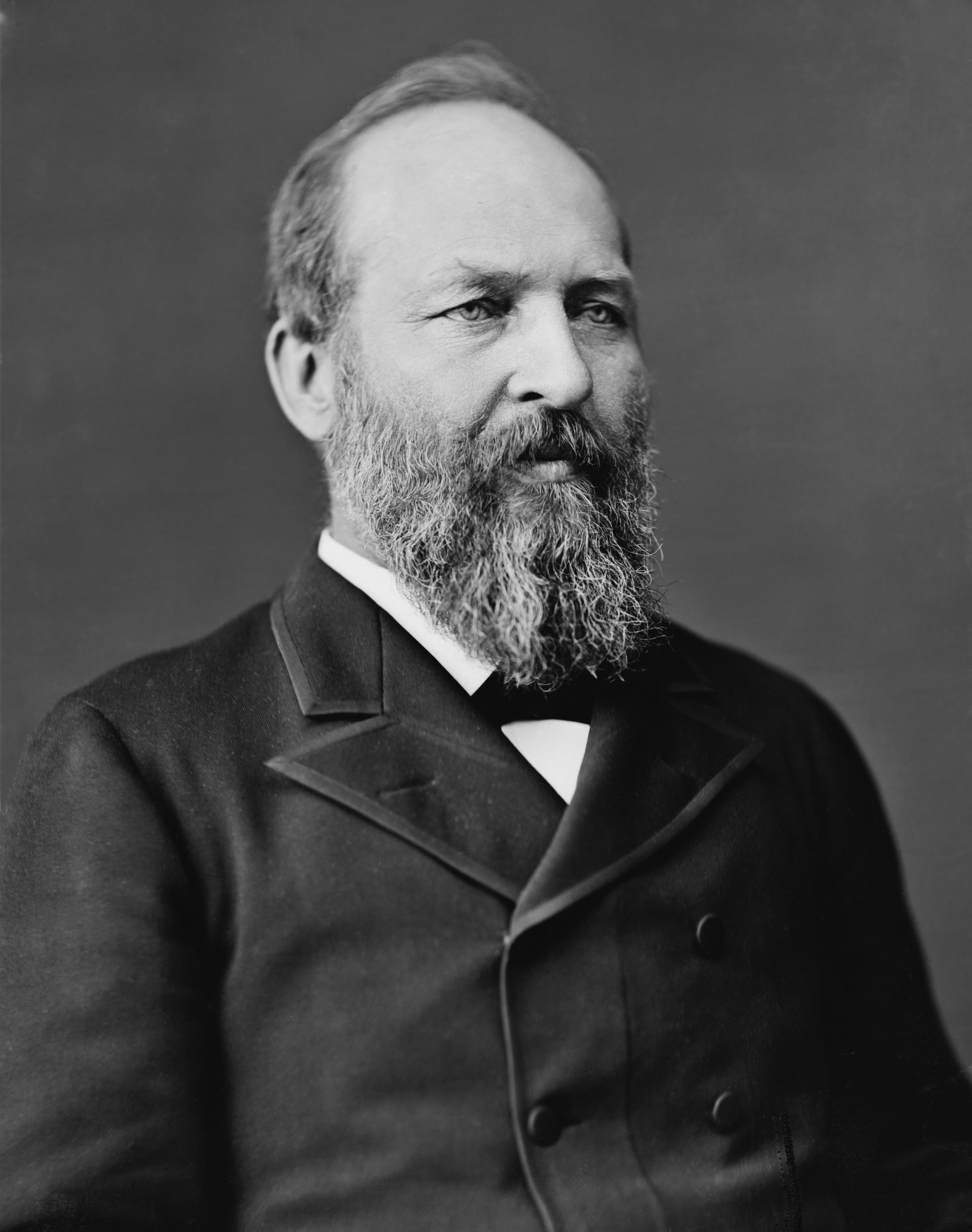 James A. Garfield photo