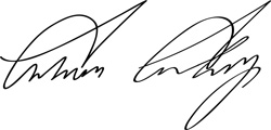 Calvin Coolidge's signature
