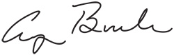 Signature of George Bush