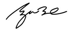 Signature of George W. Bush