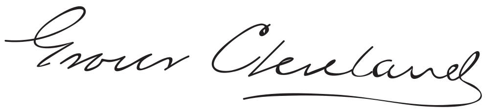 Grover Cleveland's signature