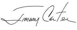 Signature of Jimmy Carter