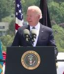 Biden speaking at US Coast Guard Graduation
