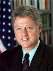 William J. Clinton photo