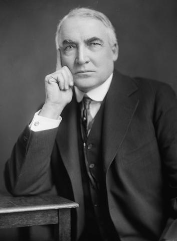 Warren G. Harding photo