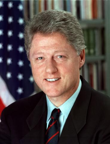 William J. Clinton photo